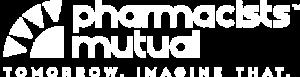 Pharmacistss Mutual Insurance Company Logo in white